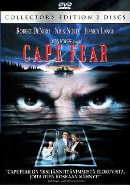 Finnish DVDs - Cape Fear
