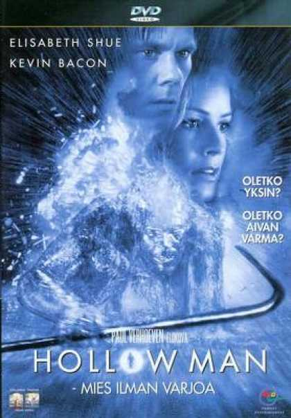Finnish DVDs - Hollow Man