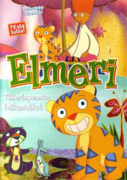 Finnish DVDs - Ethelberg The Tiger