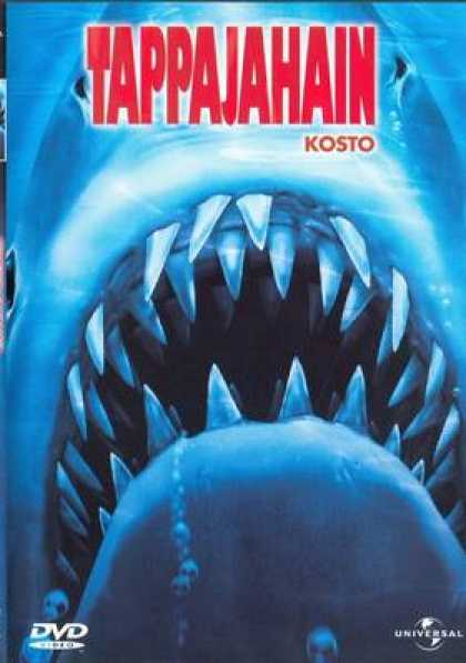 Finnish DVDs - Jaws The Revenge