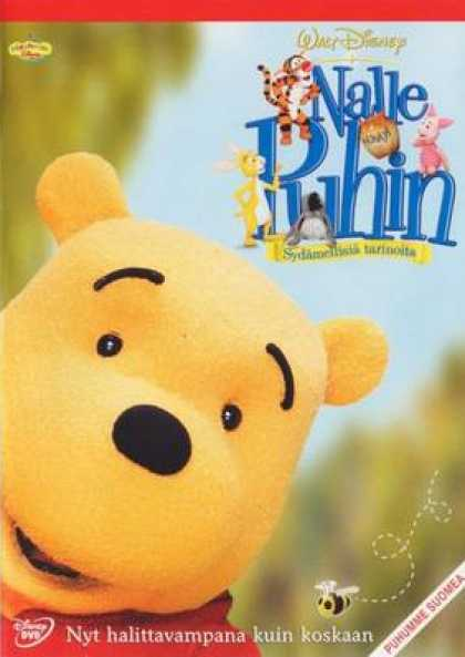 Finnish DVDs - The Book Of Pooh Stories From The Heart