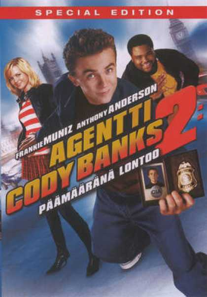 Finnish DVDs - Agent Cody Banks 2
