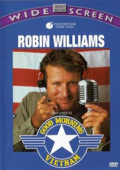 Finnish DVDs - Good Morning Vietnam