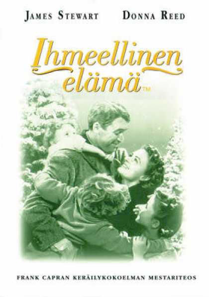 Finnish DVDs - It's A Wonderful Life