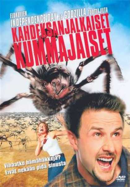 Finnish DVDs - Eight Legged Freaks