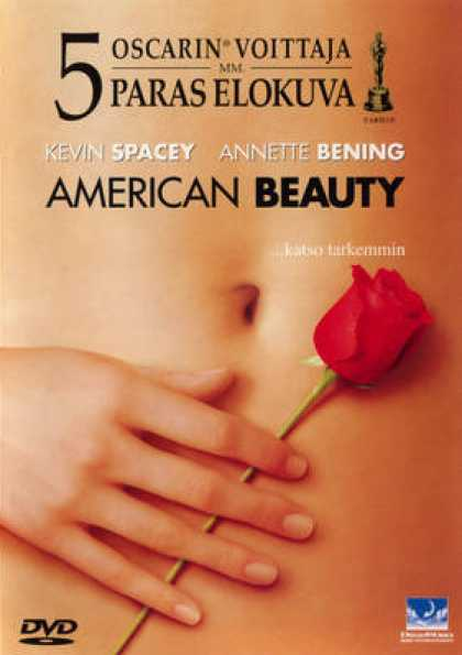 Finnish DVDs - American Beauty