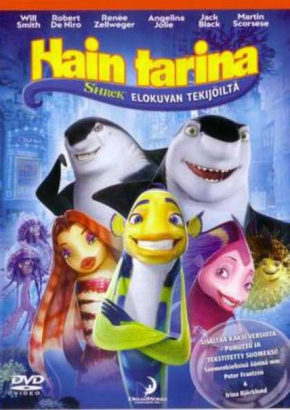 Finnish DVDs - Shark Tale