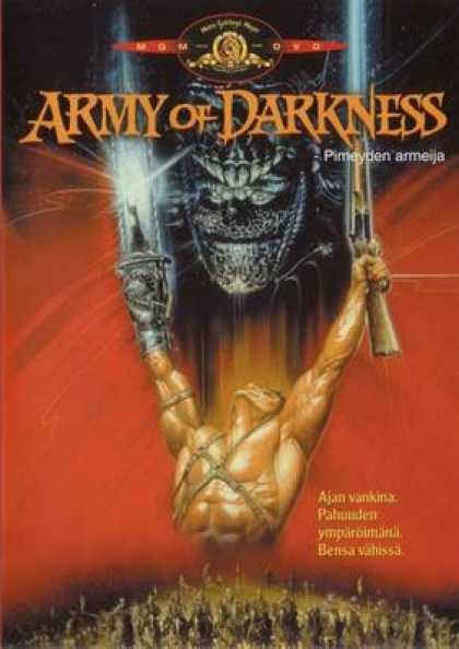 Finnish DVDs - Evil Dead 3: Army Of Darkness