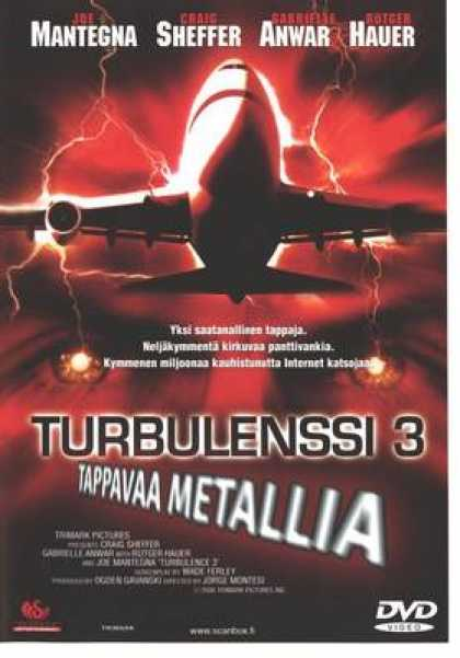 Finnish DVDs - Turbulence 3