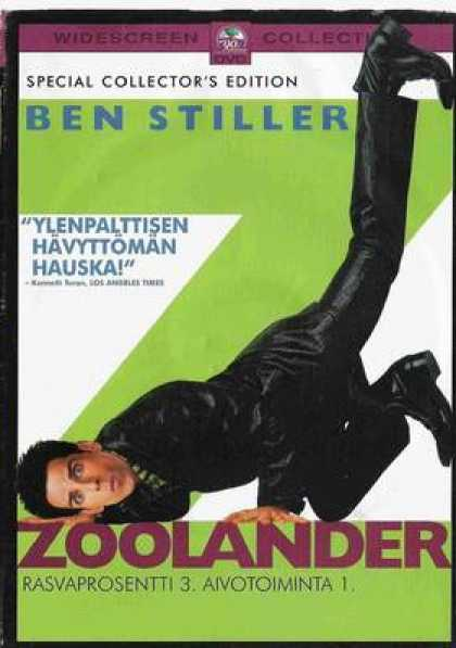Finnish DVDs - Zoolander