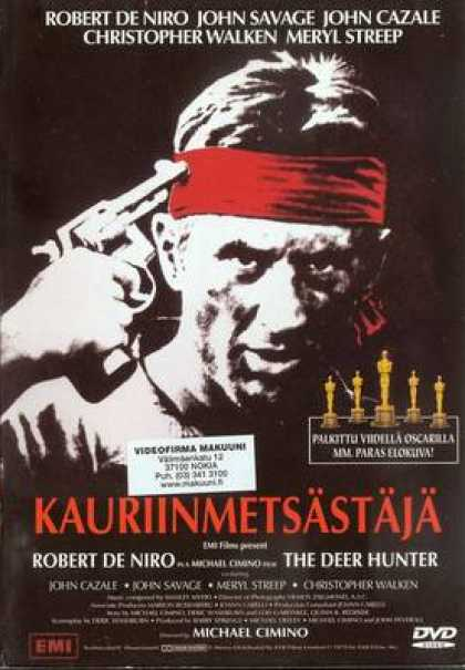 Finnish DVDs - The Deer Hunter