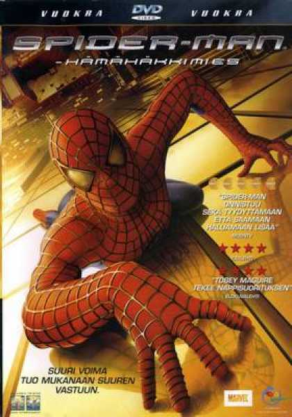 Finnish DVDs - Spiderman