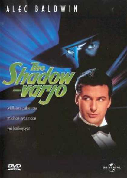 Finnish DVDs - The Shadow