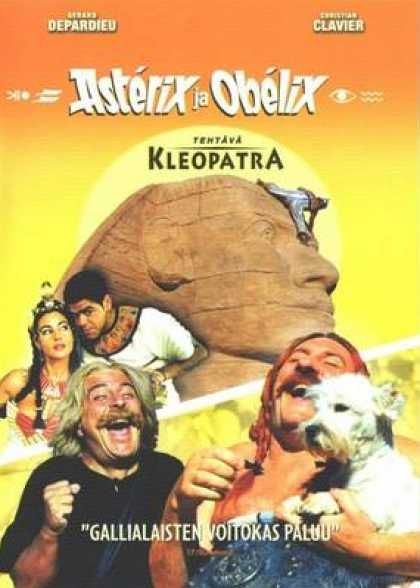 Finnish DVDs - Asterix And Obelix Mission Cleopatre
