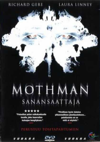 Finnish DVDs - The Mothman Prophecies