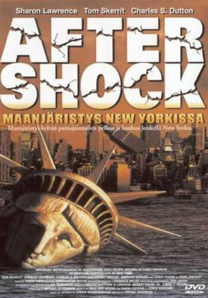 Finnish DVDs - Aftershock Earthquake In New York