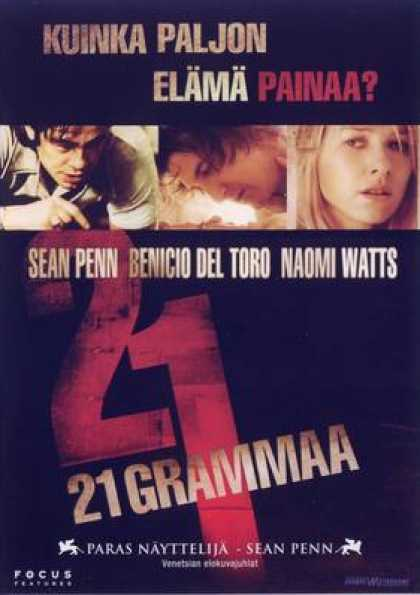 Finnish DVDs - 21 Grams