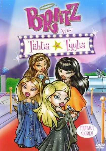 Finnish DVDs - Bratz Starrin And Stylin