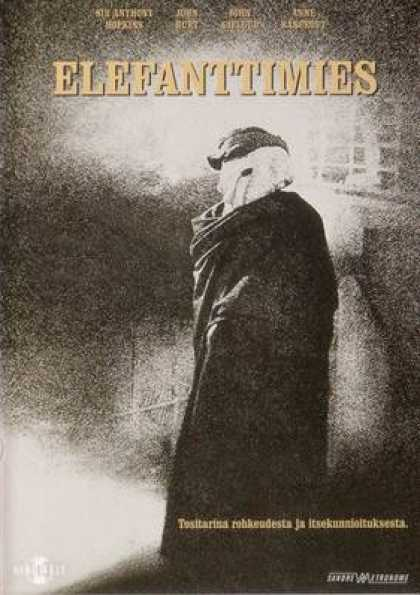 Finnish DVDs - The Elephant Man