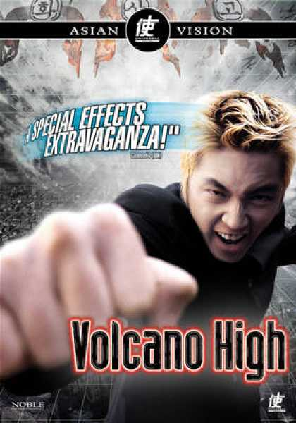 Finnish DVDs - Volcano High