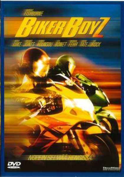 Finnish DVDs - Biker Boyz