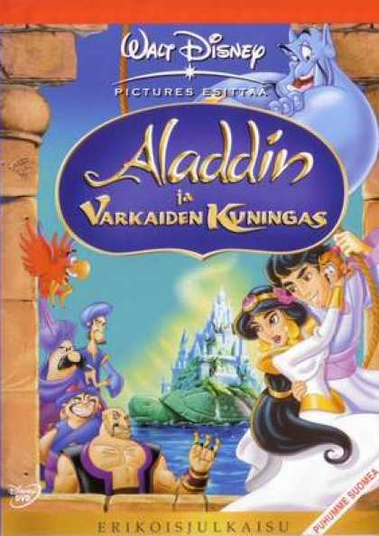 Finnish DVDs - Aladdin And The King Of Thieves