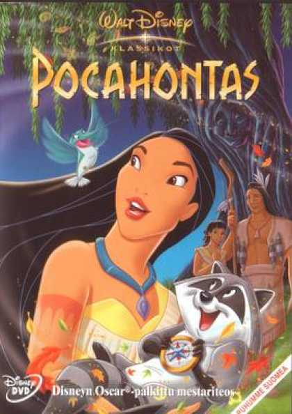 Finnish DVDs - Pocahontas