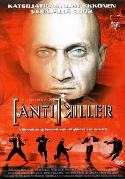Finnish DVDs - Antikiller