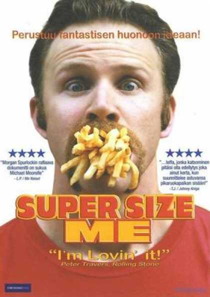 Finnish DVDs - Super Size Me