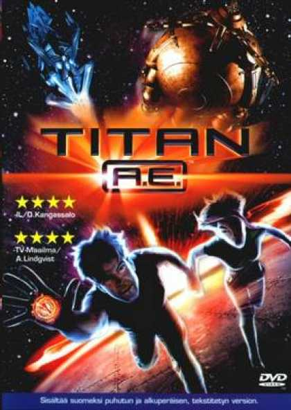 Finnish DVDs - Titan A.e