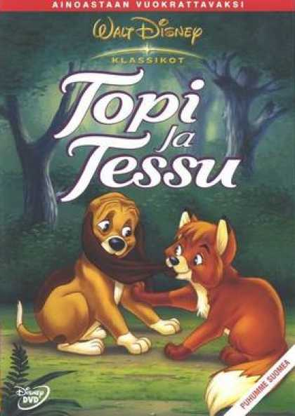 Finnish DVDs - The Fox And The Hound