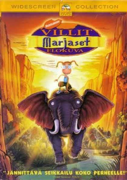 Finnish DVDs - The Wild Thornberrys Movie