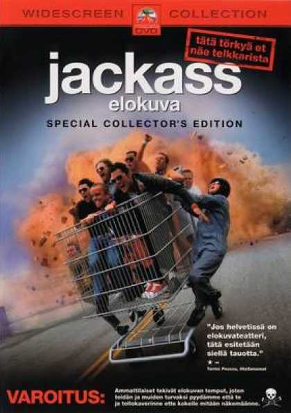 Finnish DVDs - Jackass The Movie