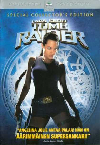 Finnish DVDs - Tomb Raider