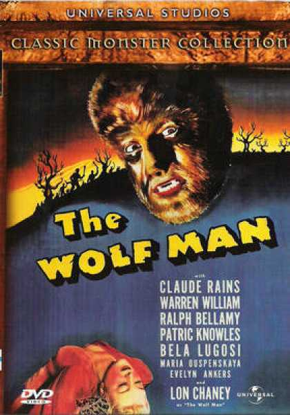 Finnish DVDs - Tha Wolf Man 1941