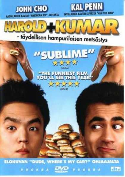 Finnish DVDs - Harold & Kumar Go To White Castle