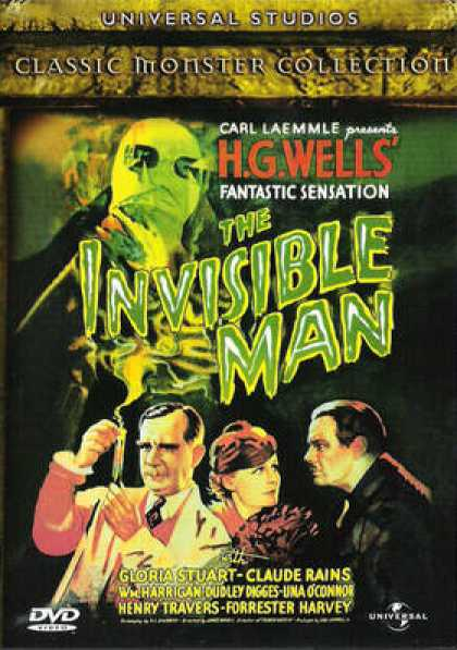 Finnish DVDs - The Invisible Man 1933