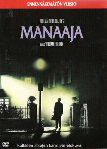 Finnish DVDs - The Exorcist