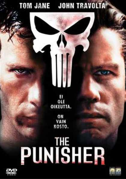 Finnish DVDs - The Punisher