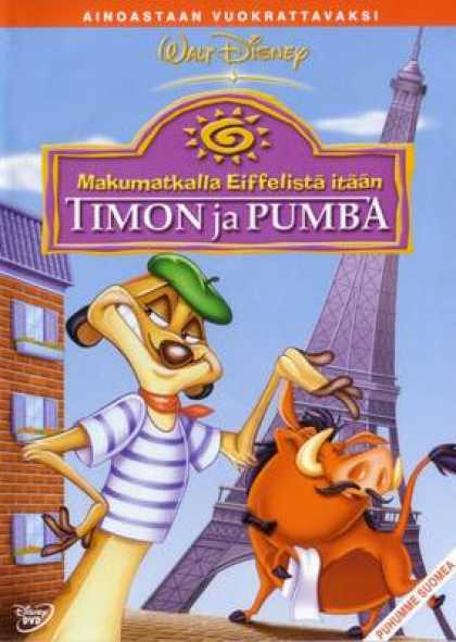 Finnish DVDs - Dining Out With Timon And Pumbaa