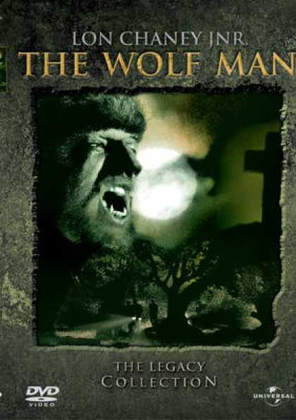 Finnish DVDs - The Wolf Man