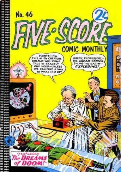 Five-Score 46 - Science Fiction - Laboratory - Mad Scientist - Studying - Experiments