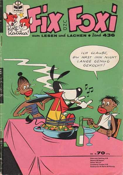 Fix und Foxi 436 - Rolf Kauka - Lesen - Lachen - Table - Bottle