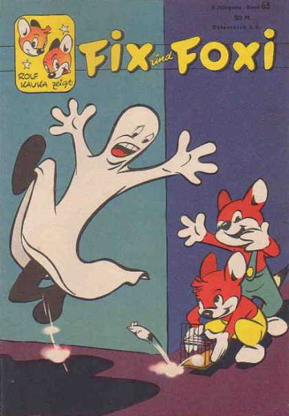 Fix und Foxi 65 - Rolf - Ghost - Fox - Overalls - Red