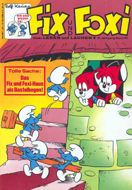 Fix und Foxi 781 - Rolf Kauka - Foxes - Gnome - Tower - Tolle Sache