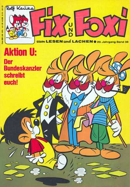 Fix und Foxi 874 - Pipe - Mustaches - Bow Ties - Golf Clubs - Tuxedo