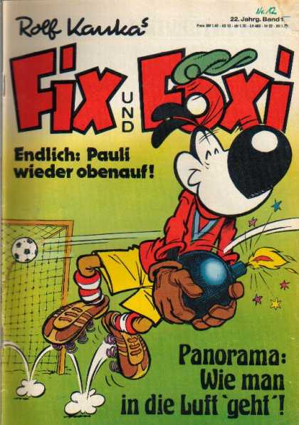 Fix und Foxi 951 - Fox - German - Hat - Nose - Bomb