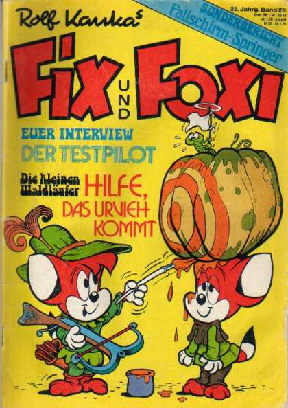 Fix und Foxi 965 - Rolf Kankas - Interview - Paint - Anchor - Der Testpilot