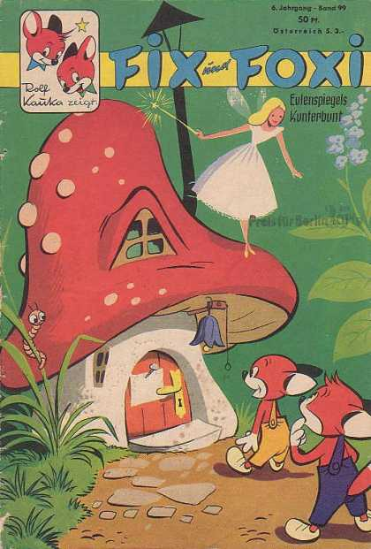Fix und Foxi 99 - Magic - Fairy - Forest - Toadstool - Enchantment