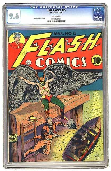 Flash Comics 15 - Sheldon Moldoff